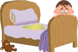 Trẻ bị bệnh đái dầm