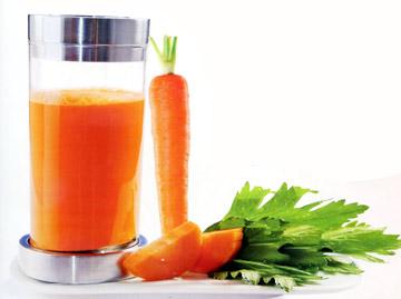 Nước cà rốt có tác dụng chữa bệnh