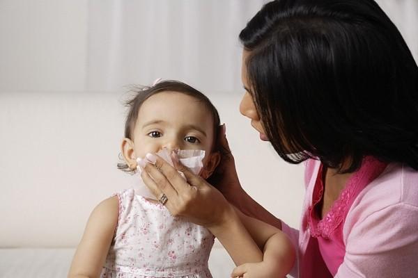 Trẻ bị cúm