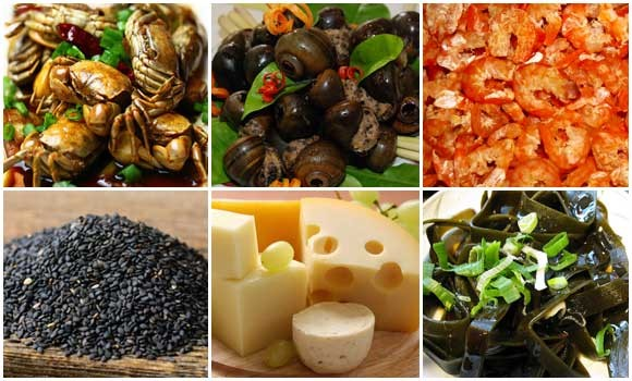 Thực phẩm Canxi